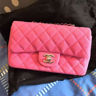 Chanel Hot Pink 20cm Bag