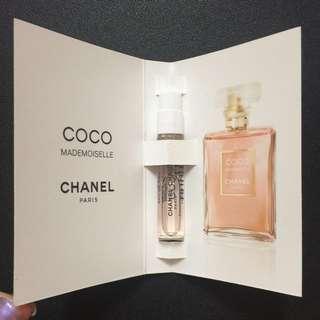 Chanel Mademoiselle perfume sample 香水 香水版 香水試用裝
