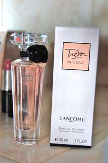Tresor In Love By Lancome 30ml New And Unopened In Original Packaging