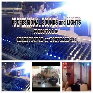 Sound System For Rent/sale