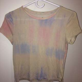 American Eagle Soft And Sexy Tie-dye T-shirt