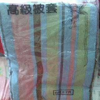 大統百貨買的6尺乘以7尺高級被套特價499元