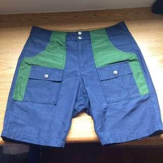 MRD MT rainier design 60/40 機能 拼接 短褲 美國製