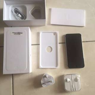 iPhone 6 64GB Grey FU Fullert Mulus Ex Inter