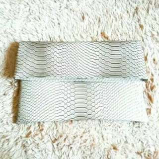 Dupe Zara Clutch SnakeSkin Leather