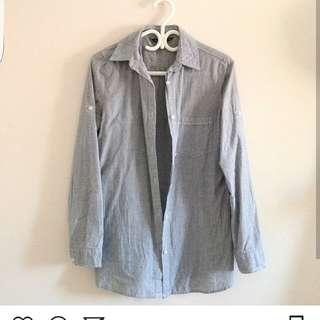 Blue notes Dress Shirt Oversized