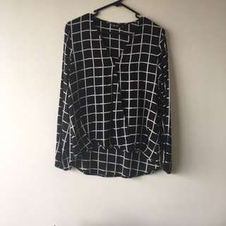 Chicabooti Blouse Size 8