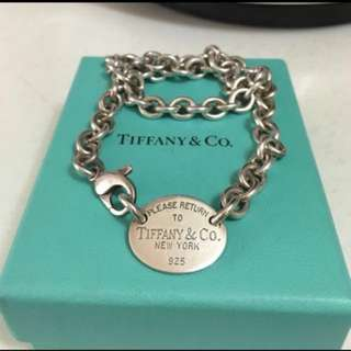 九成新 Tiffany Necklace 頸鏈