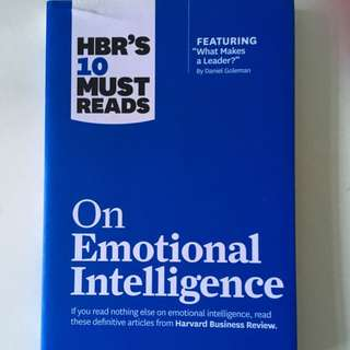 Harvard Business Review's On Emotional Intelligence