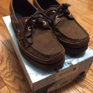 Sperry Mako 2-Eye Deck/Boat Shoe Size 7.5 Mens