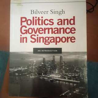 PS2249: Politics And Governance In Singapore