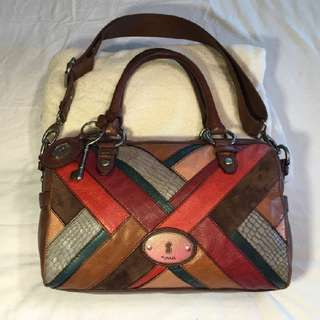 Preloved Maddox Patchwork Fossil