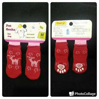 Anti-slip Dog Socks