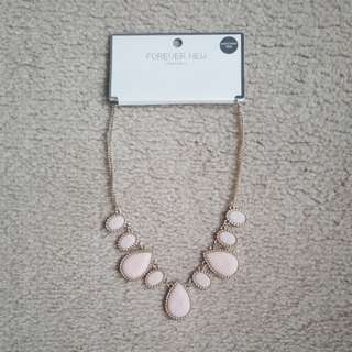 FOREVER NEW NECKLACE (Soft Pink)