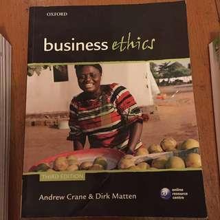 大專書 Business Ethics
