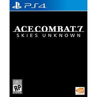 Pre-Order PS4 ACE COMBAT 7 SKIES UNKNOWN