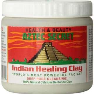 Instock AZTEC Secret Indian Healing Clay - Facials, Acne, Pore Cleansing