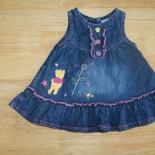 DISNEY used denim dress