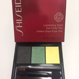 Shiseido eye color trio 彩妝眼影盒 color:GR716