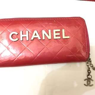 Chanel Pink Wallet Waterproof