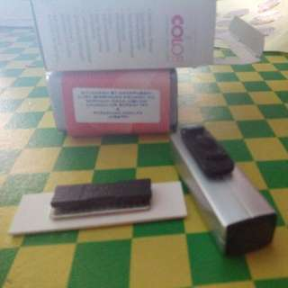 Rubber Stamp Combo With Name Tag