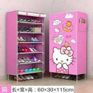 Hello Kitty Shoerack