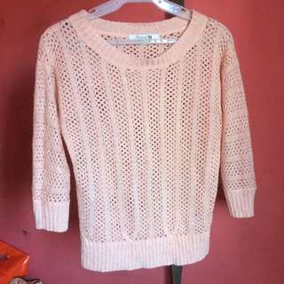 F21 Knitted Long Sleeves