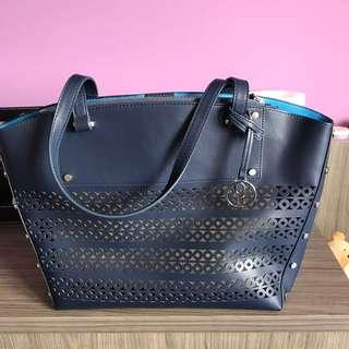 Nine West Blue Tote bag