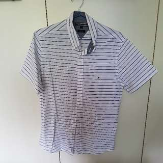 100% Authentic Tommy Hilfiger Short-sleeved Shirt