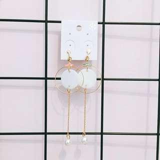🦄🦄幾何圖形耳夾式耳環