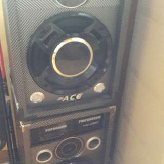 Set Dvd Player +speaker +song Book+ Mic