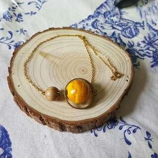 星球項鍊 handmade necklace