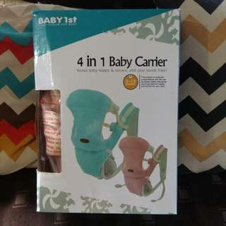 Baby 1st 4in1 Carrier