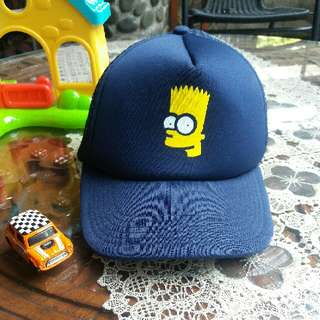 Topi Bart Simpsons