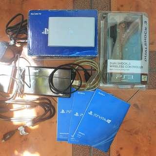Ps Vita Tv Henkaku with 120gb External Hard Drive