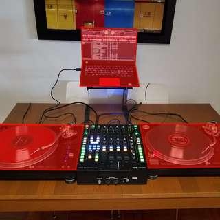 DJ Mixer - Rane 68 - 4 Channels Professional Club DJ Mixer
