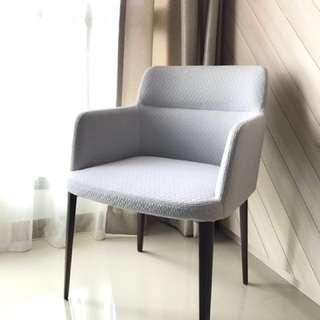 GRANGE Arm Chair (Light-Grey)