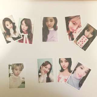TWICE OFFICIAL PRE ORDER PHOTOCARDS