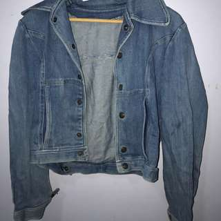 Vintage Denim Jacket Fit Size Small 6-8