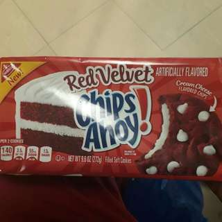 Chips Ahoy Red Velvet Cookies
