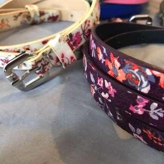 New belts