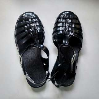 Jelly Shoes Black 39