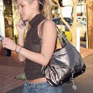 私人自用 二手名牌包 歐美品牌 Botkier 大尺寸 三層包 真品 皮革 安潔莉娜裘麗 愛用