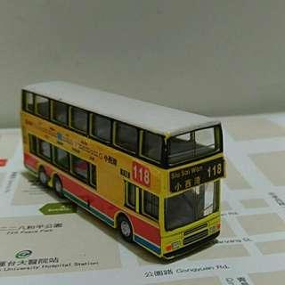 香港双層巴士合金模型車