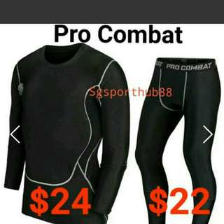 Pro Combat Men's Compr Sports Tight