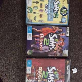 Sims 2 bundle (3 games)