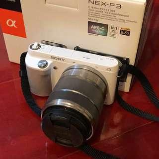 Sony NEX F3 自拍相機