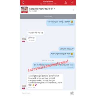 Another Testimonials Preloved By Melyn 💕