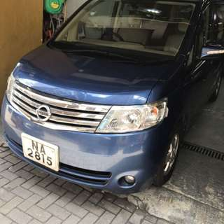 2007 Nissan Serena Highway Star Deluxe version