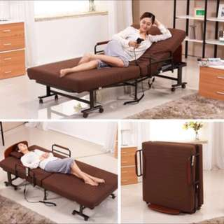全新未使用,自動升降摺疊床